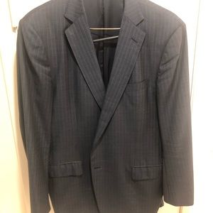 Ermenegildo Zegna dark navy/black sports coat